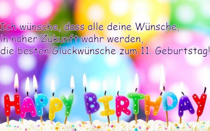 Schöne Geburtstagswünsche Und Sprüche Zum 11 Geburtstag