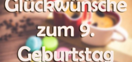 Gluckwunsche Zum 9 Geburtstag Fur Das Liebe Enkelkind